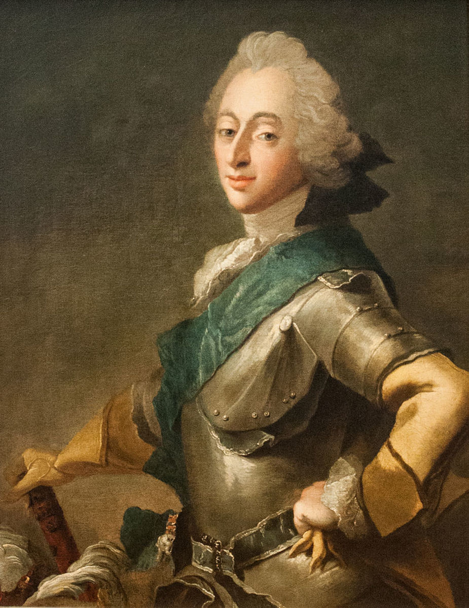 King Frederick V of Denmark and Norway.