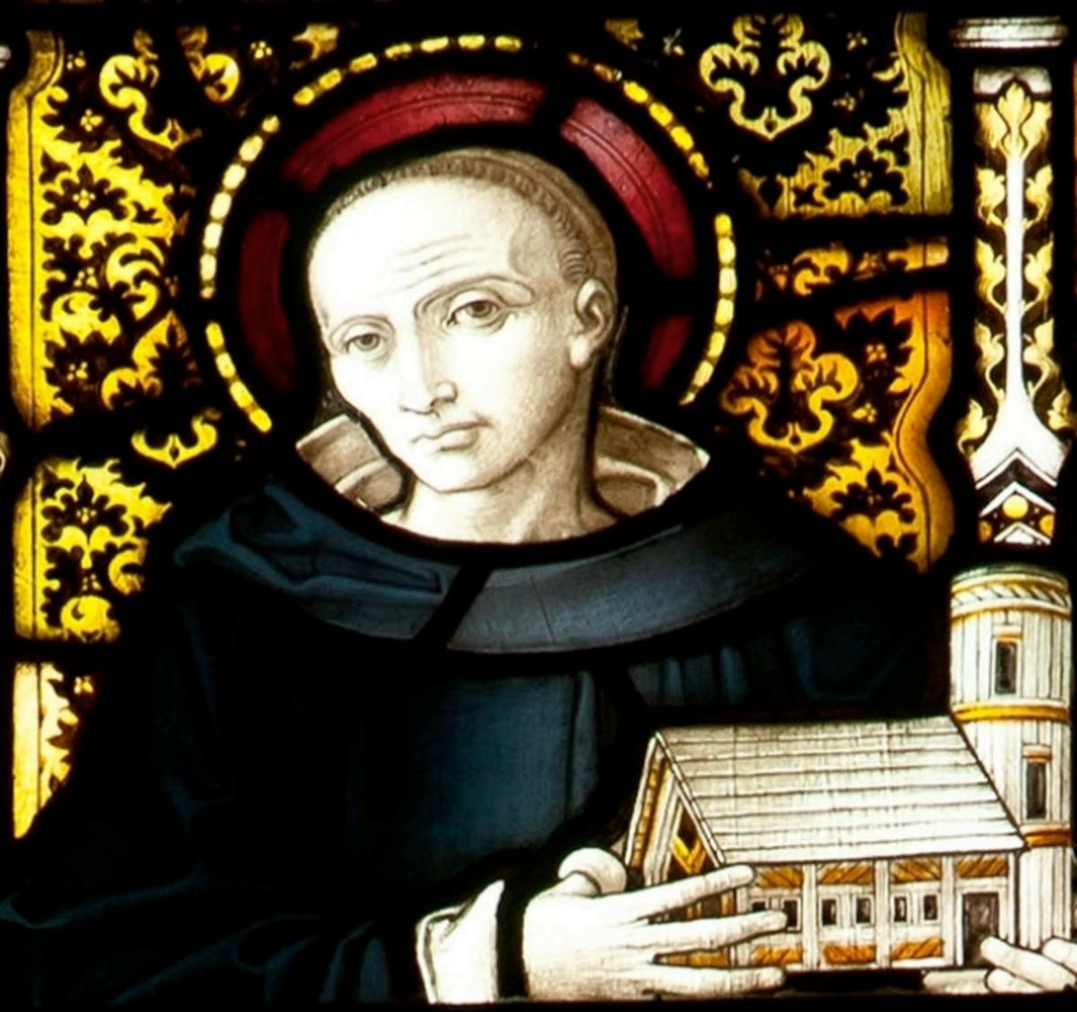 Saint Piran, The patron saint of Cornwall.