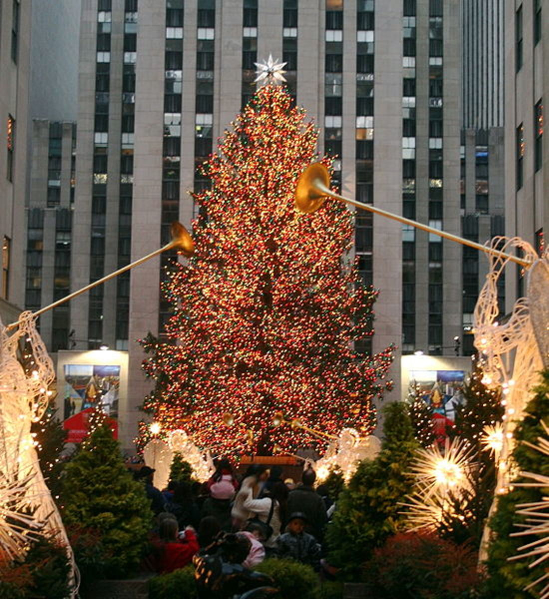 Rockefeller Plaza Christmas Tree
