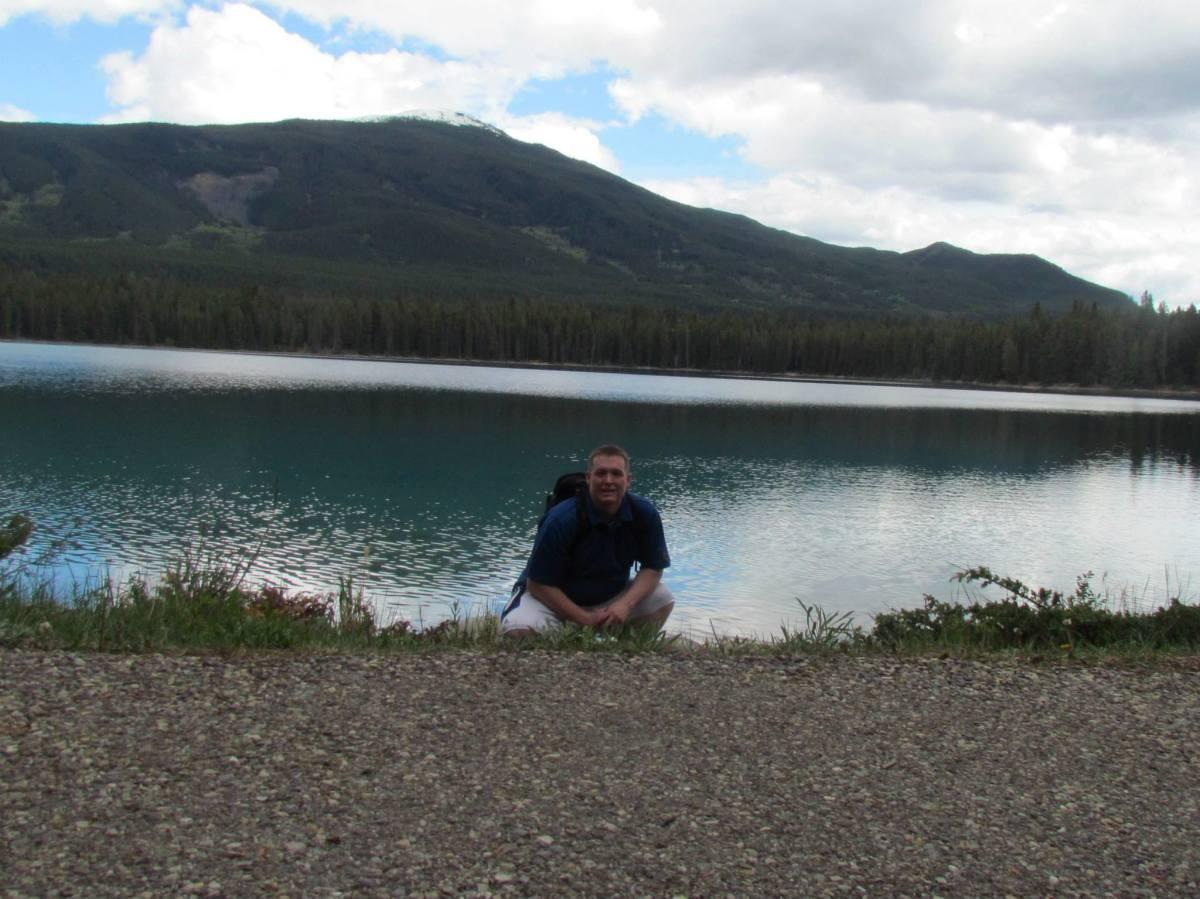 Lake Annette in Jasper 2013.