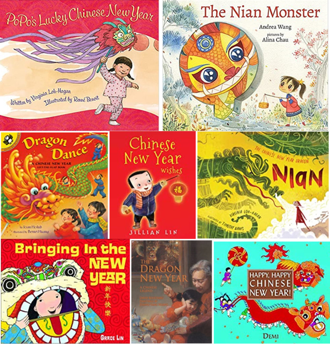 Best Children's Book List for Chinese New Year