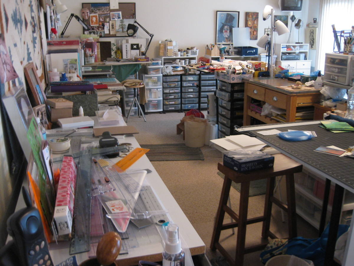 Quite a big mess of clutter here!