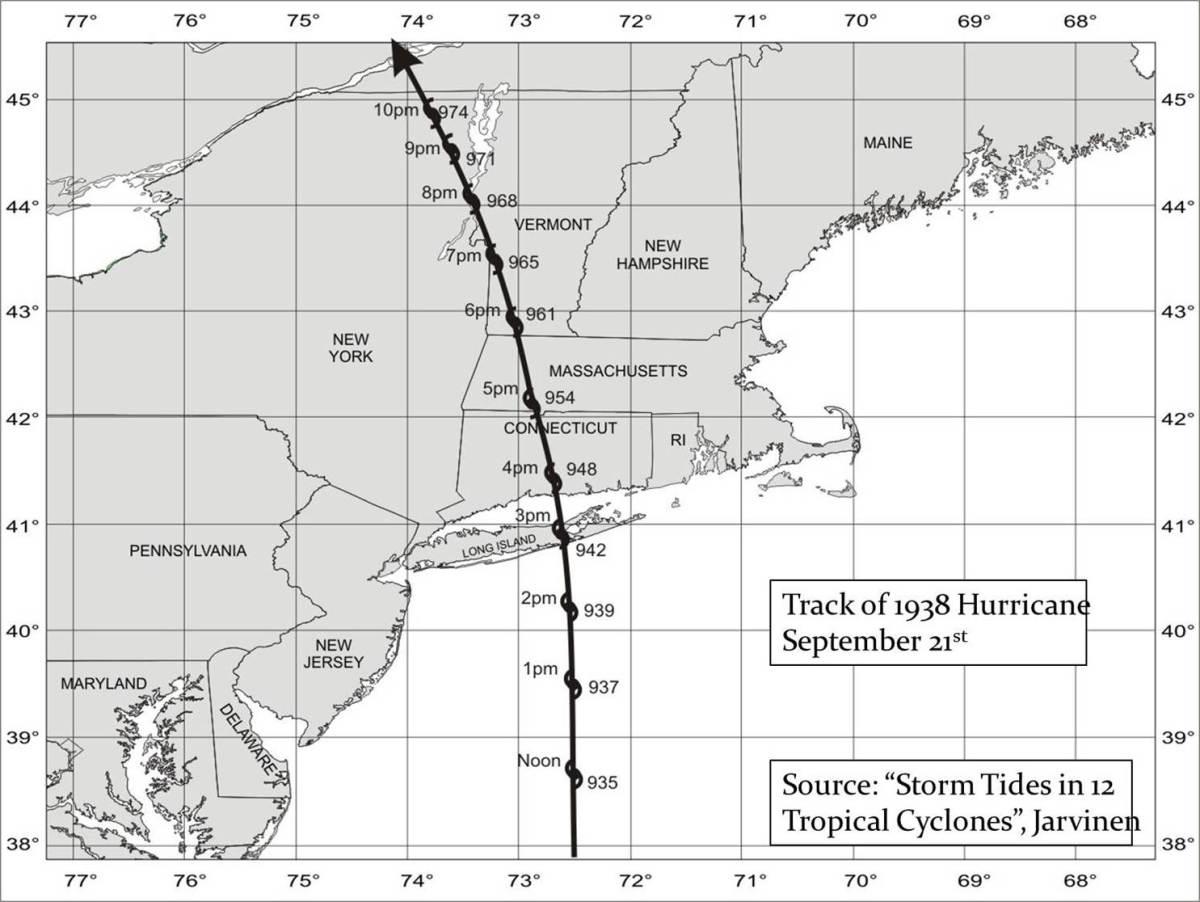 New England's Hurricane: The Long Island Express: Arrival September 21, 1938