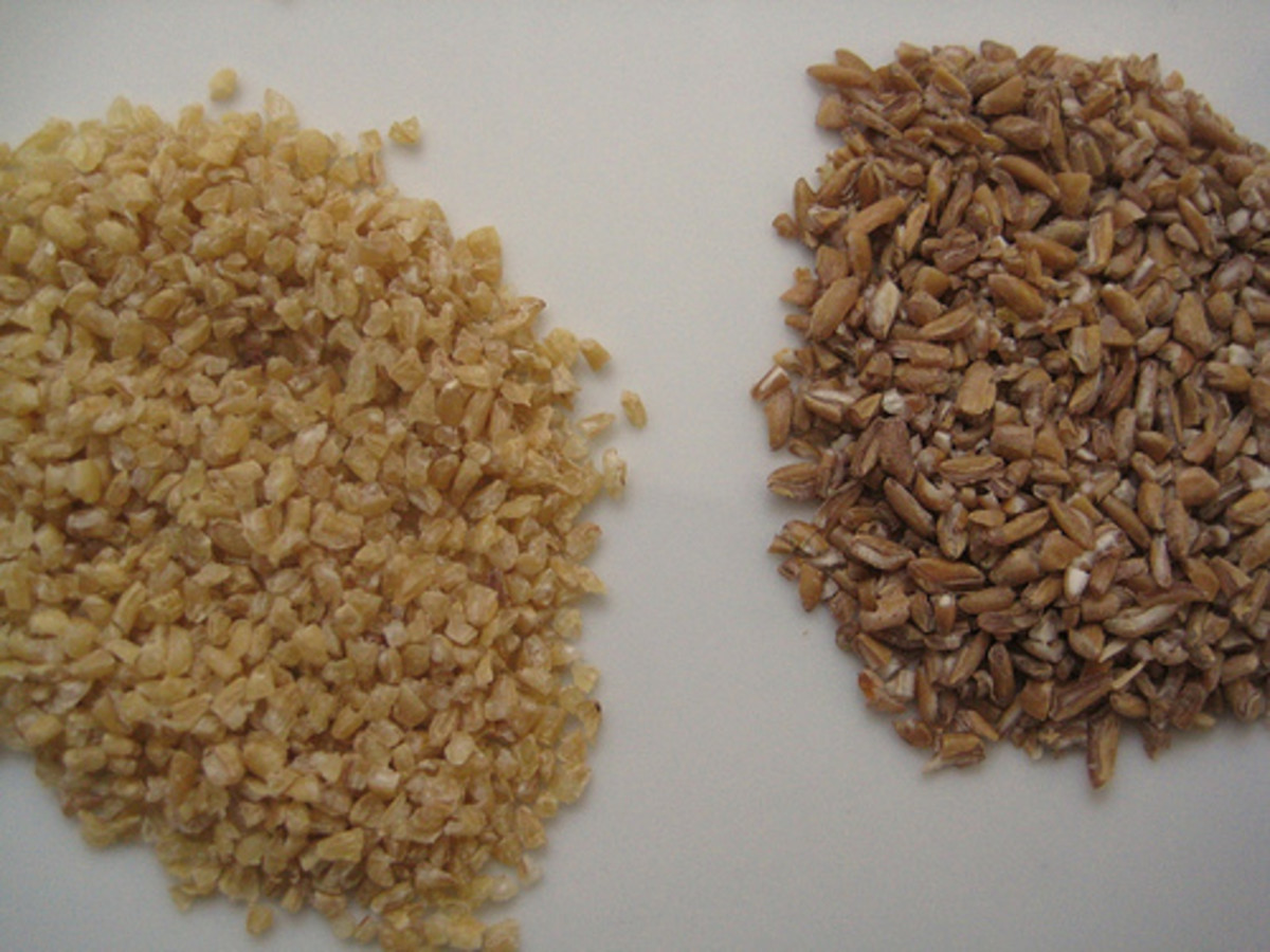Bulgur and Cracked Wheat (Photo courtesy by KirrilyRobert from Flickr.com)