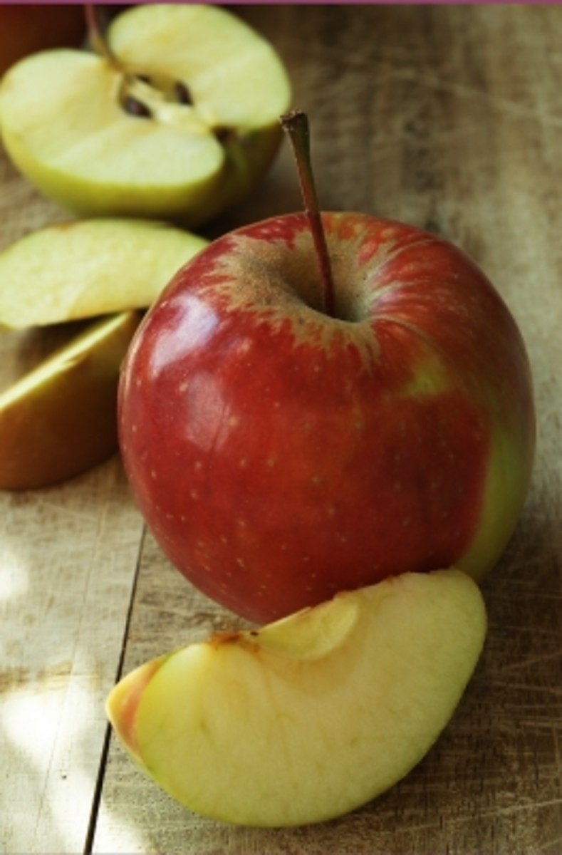 buy organic or grow your own apples