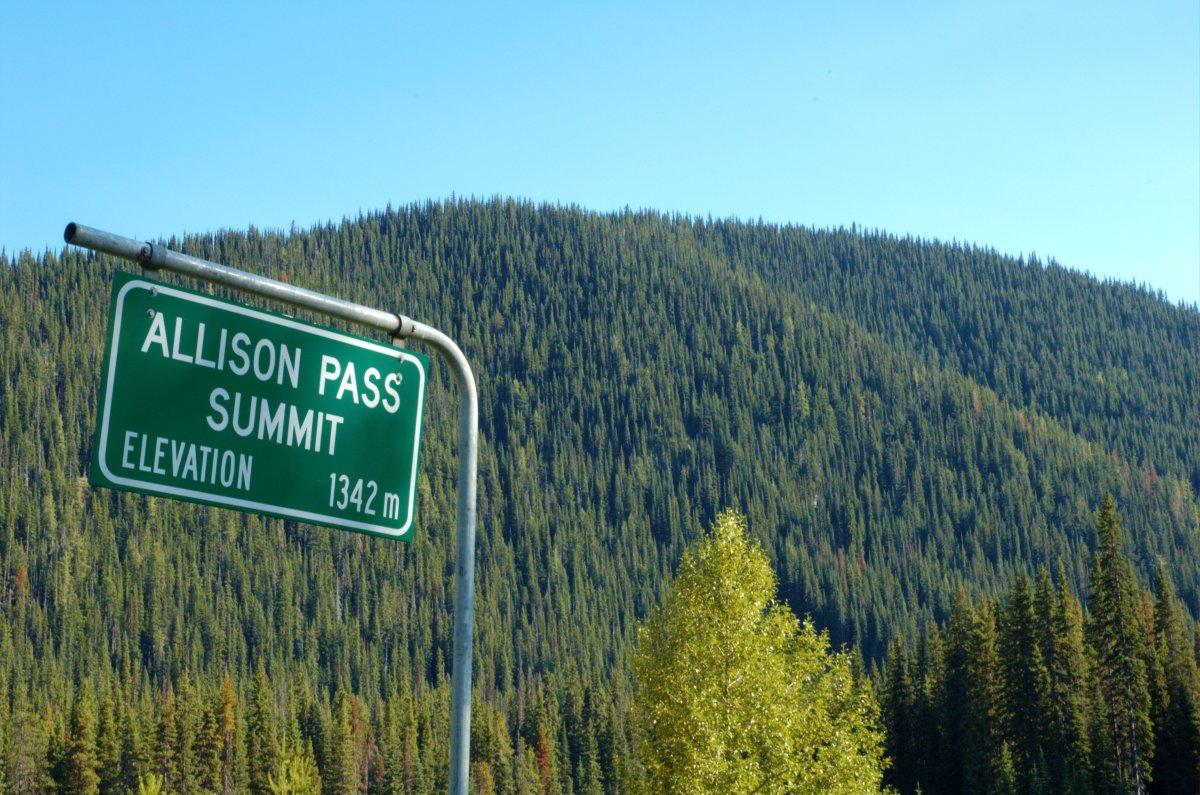 Allison Summit Pass