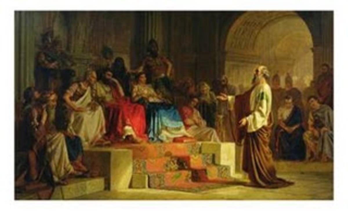 Paul on trial before Festus