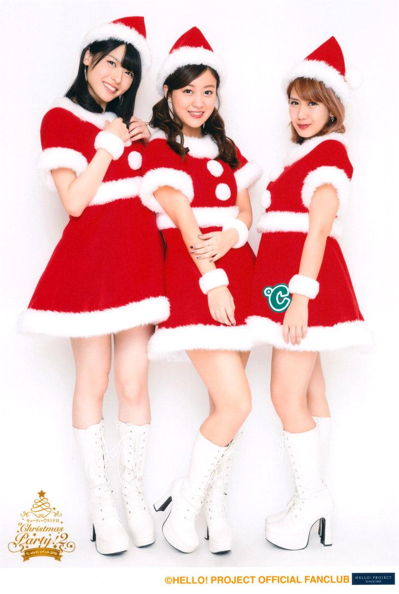 From left to right: Maimi Yajima, Mai Hagiwara, and Chisato Okai.
