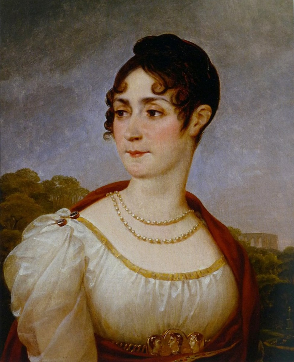 Empress Joséphine in her forty-sixth year