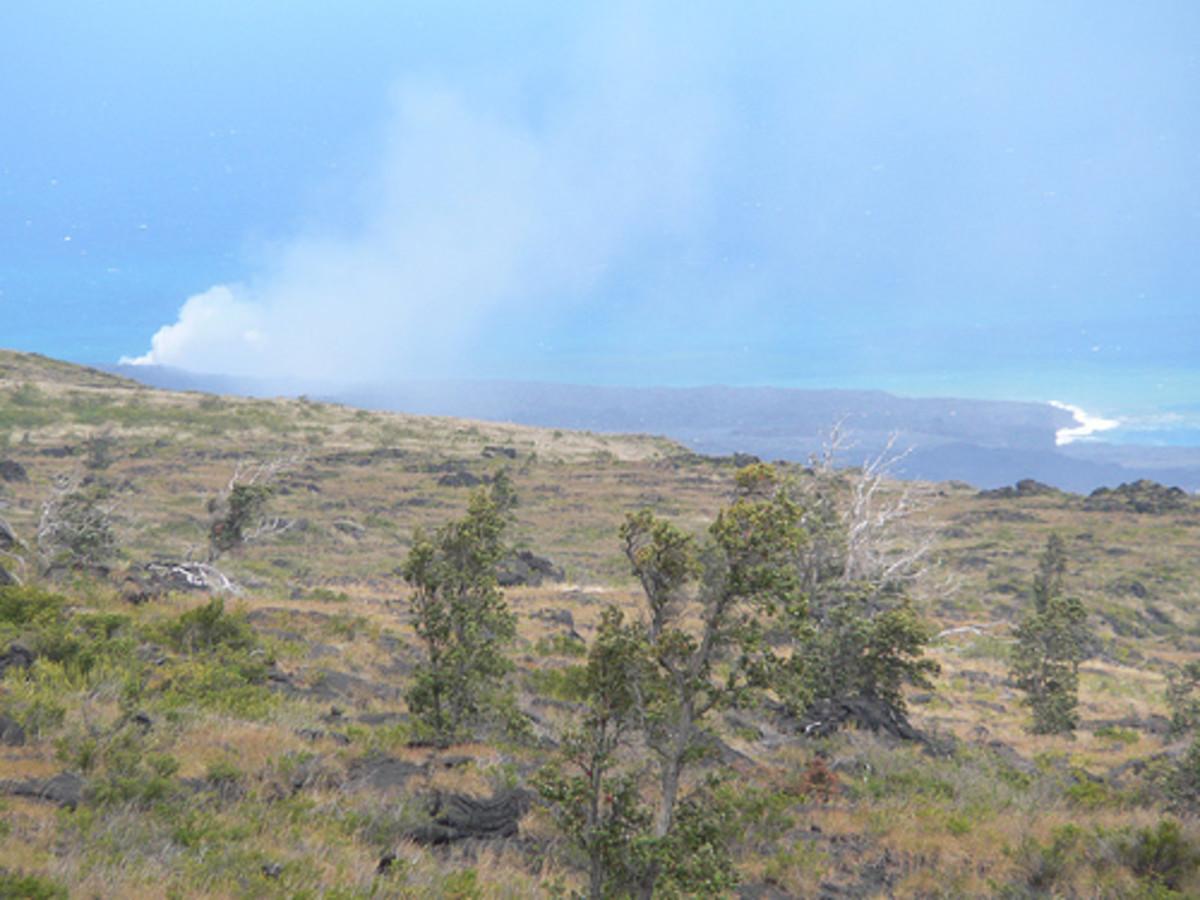 Volcanoes National Park in Hawaii.