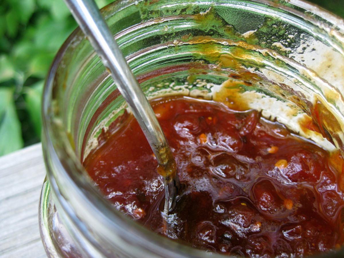 The Best Ever Sweet Tomato Jam