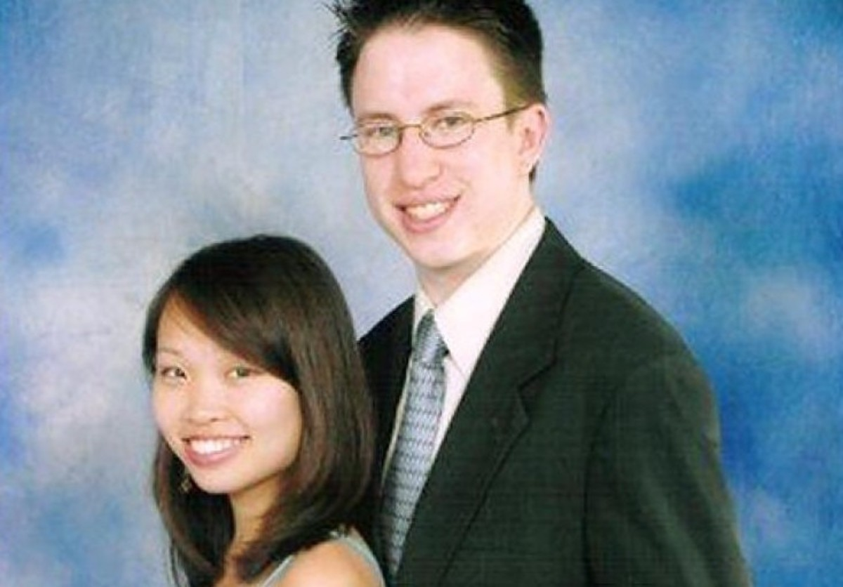 Annie Le and her fiancé Jonathan Widawsky were in love and due to get married when she was found murdered on the Yale University campus. Source: Facebook.