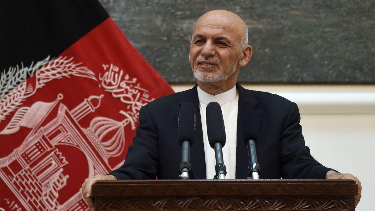 Fugitive President of Afghanistan