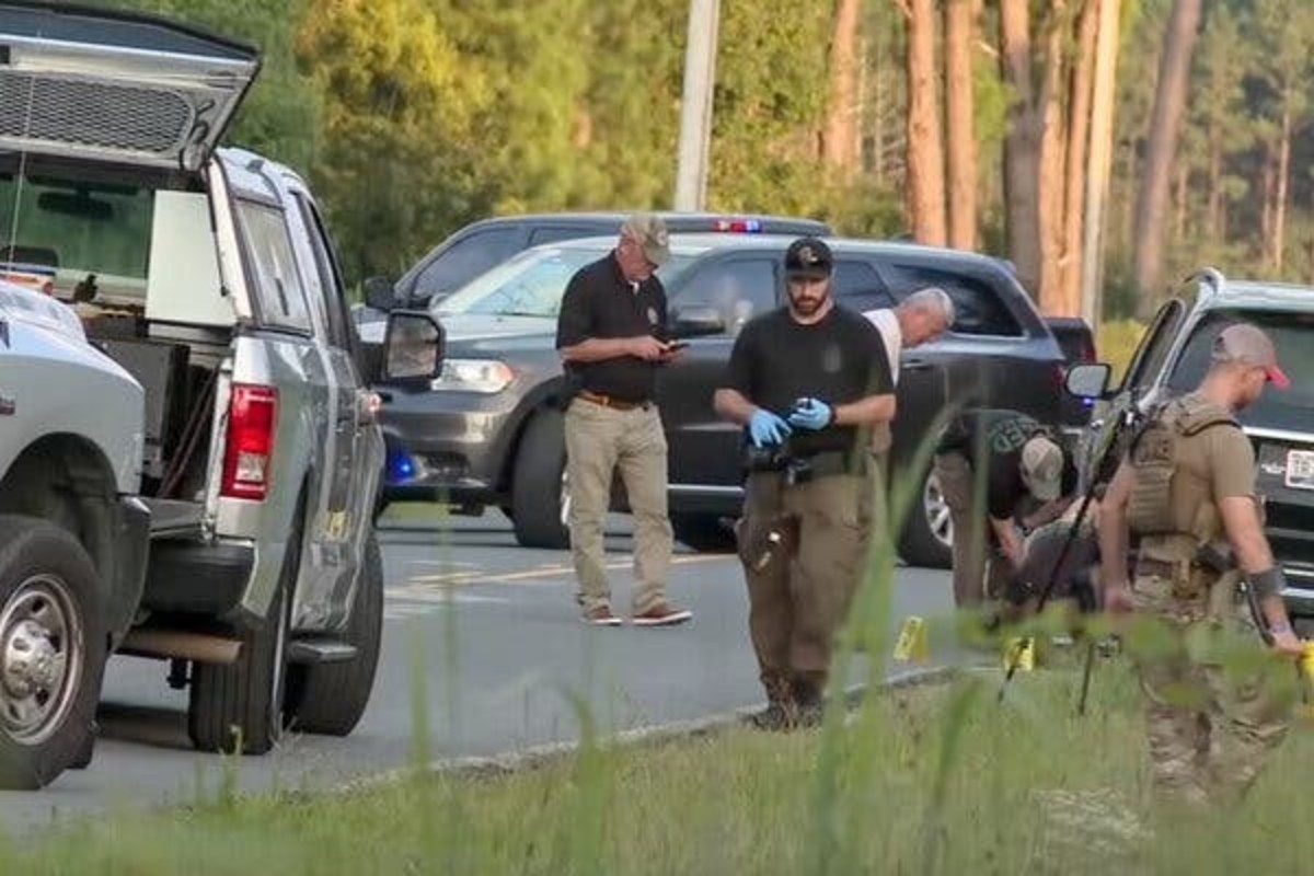 Police responded to an alleged attempted murder of Alex Murdaugh on September 4, 2021, near Varnville, South Carolina. Photo courtesy of ABC.
