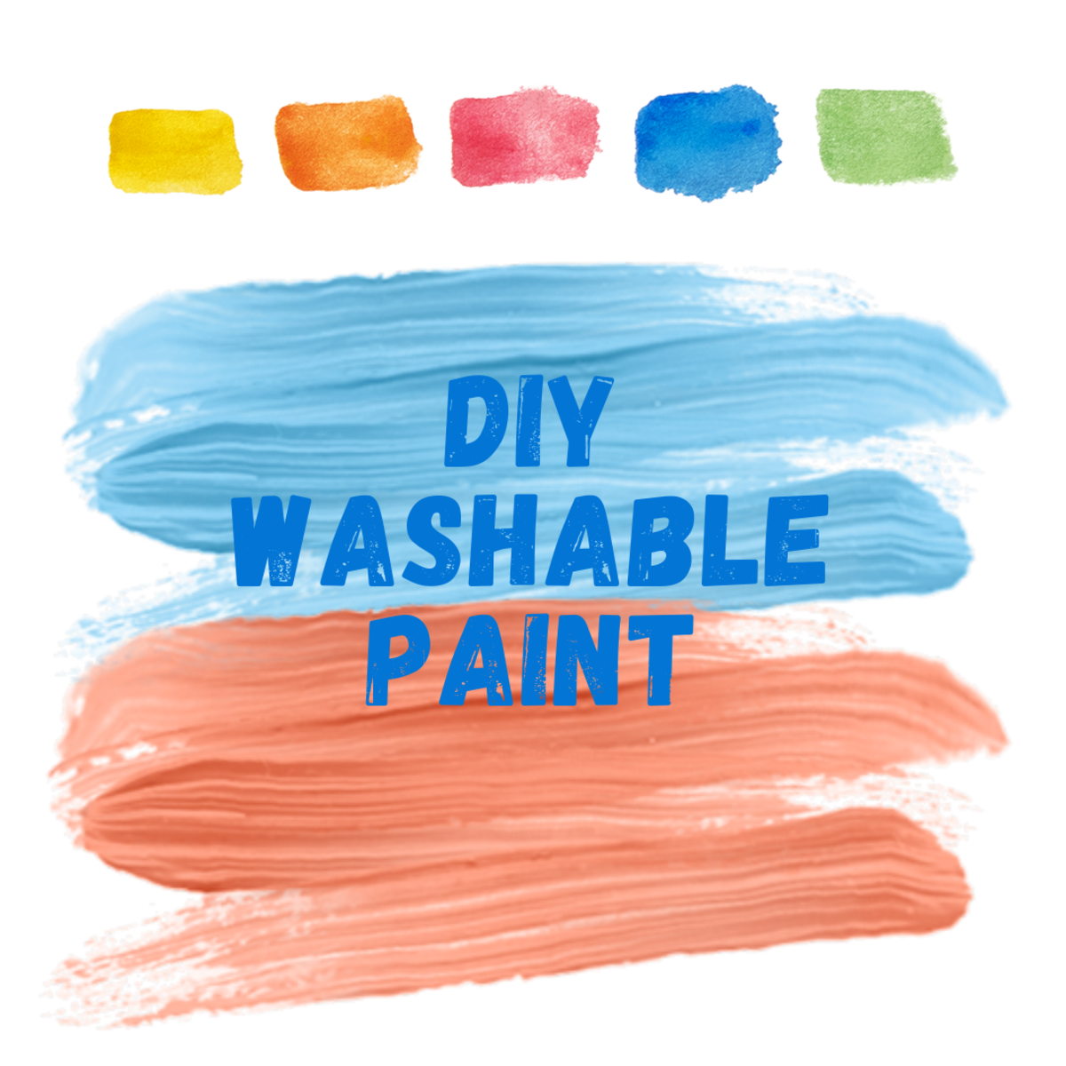 Learn how to make your own washable paint—perfect for kids!