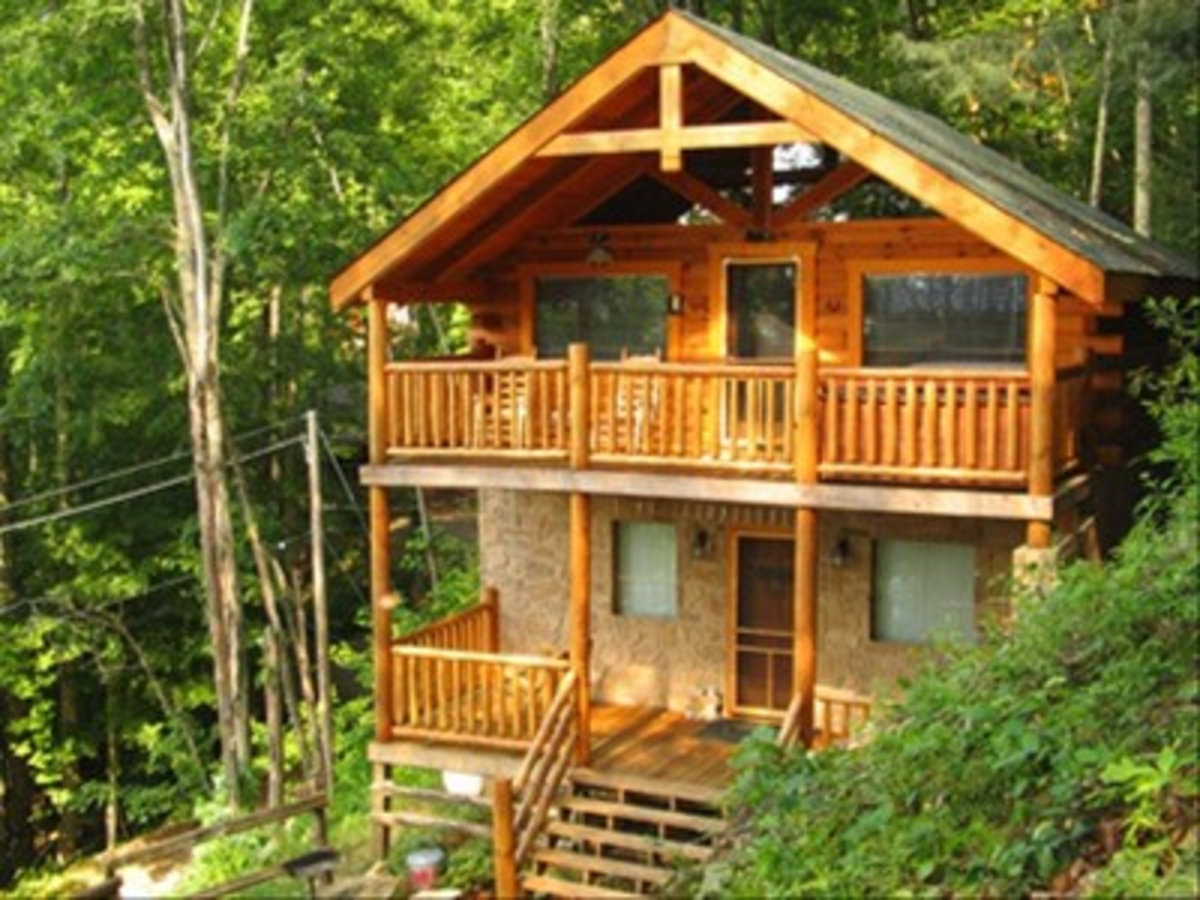 Cabin in Wooded Setting For Rent on VRBO - Pigeon Forge, East, Tennessee, USA