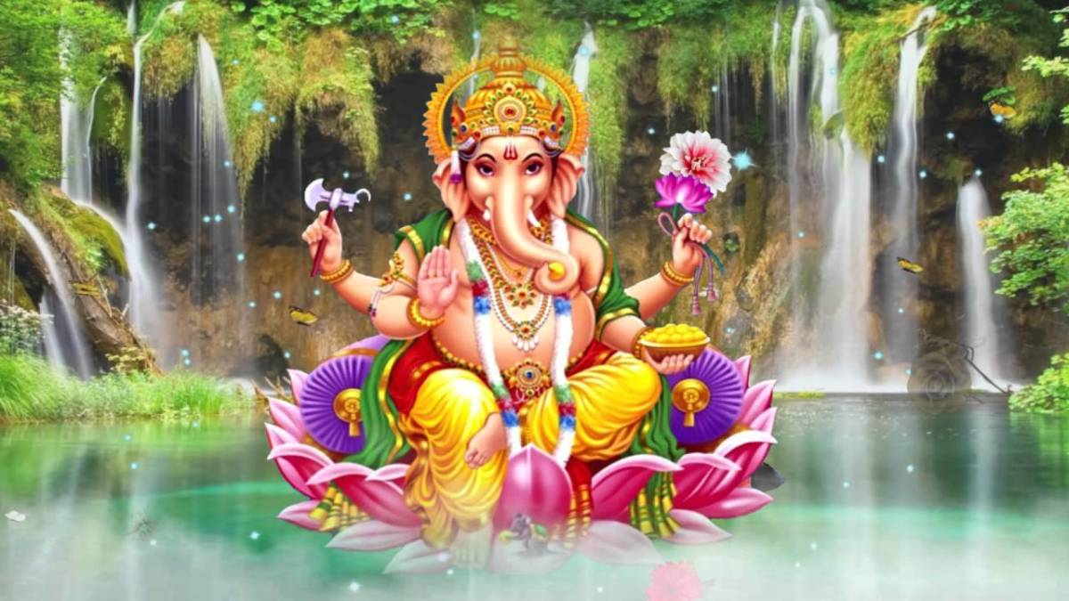 Ganesha - The Lord of Purity, Knowledge, Intelligence and Wisdom .... The Lord of Beginning ....