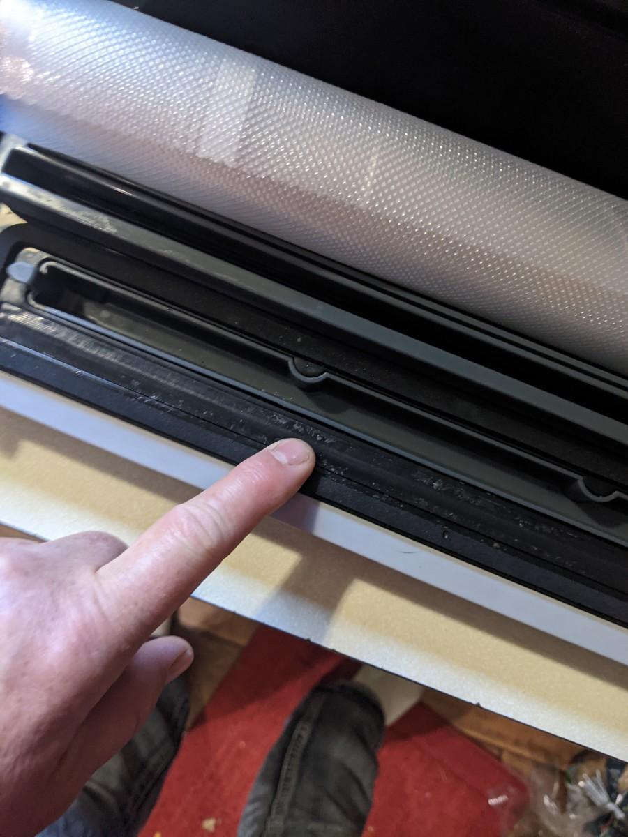 Heater seals bag