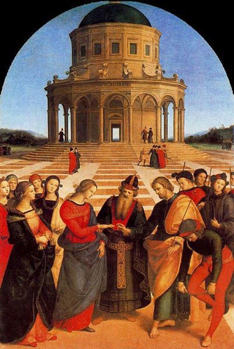 """Wedding of the Virgin""  by  Rafael"