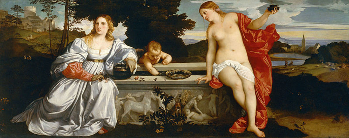 """Sacred and Profane Love""  by Titian"