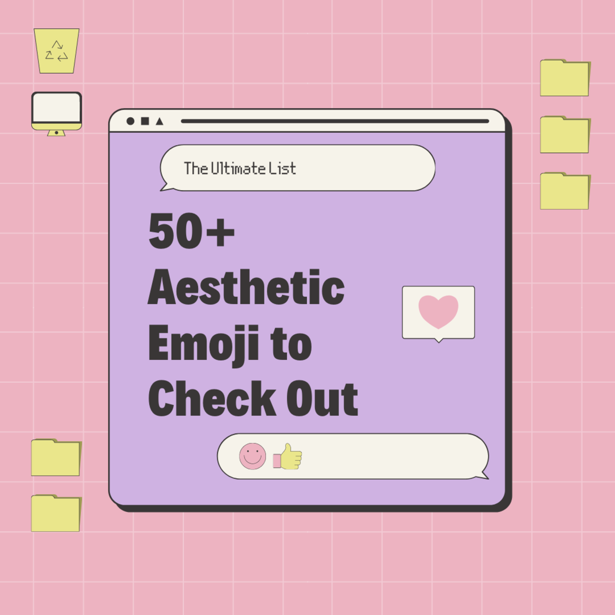 In this guide, we'll be taking a look at super aesthetic emoji to check out!