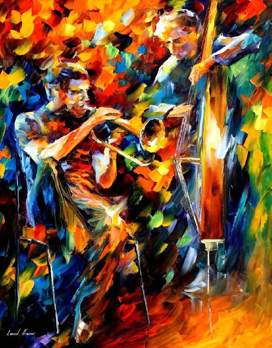 Abstract Jazz Painting | Pinterest