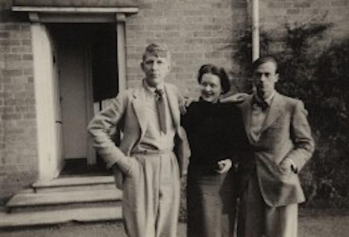 W. H. Auden - Hedli Anderson - Sir William Menzies Coldstream