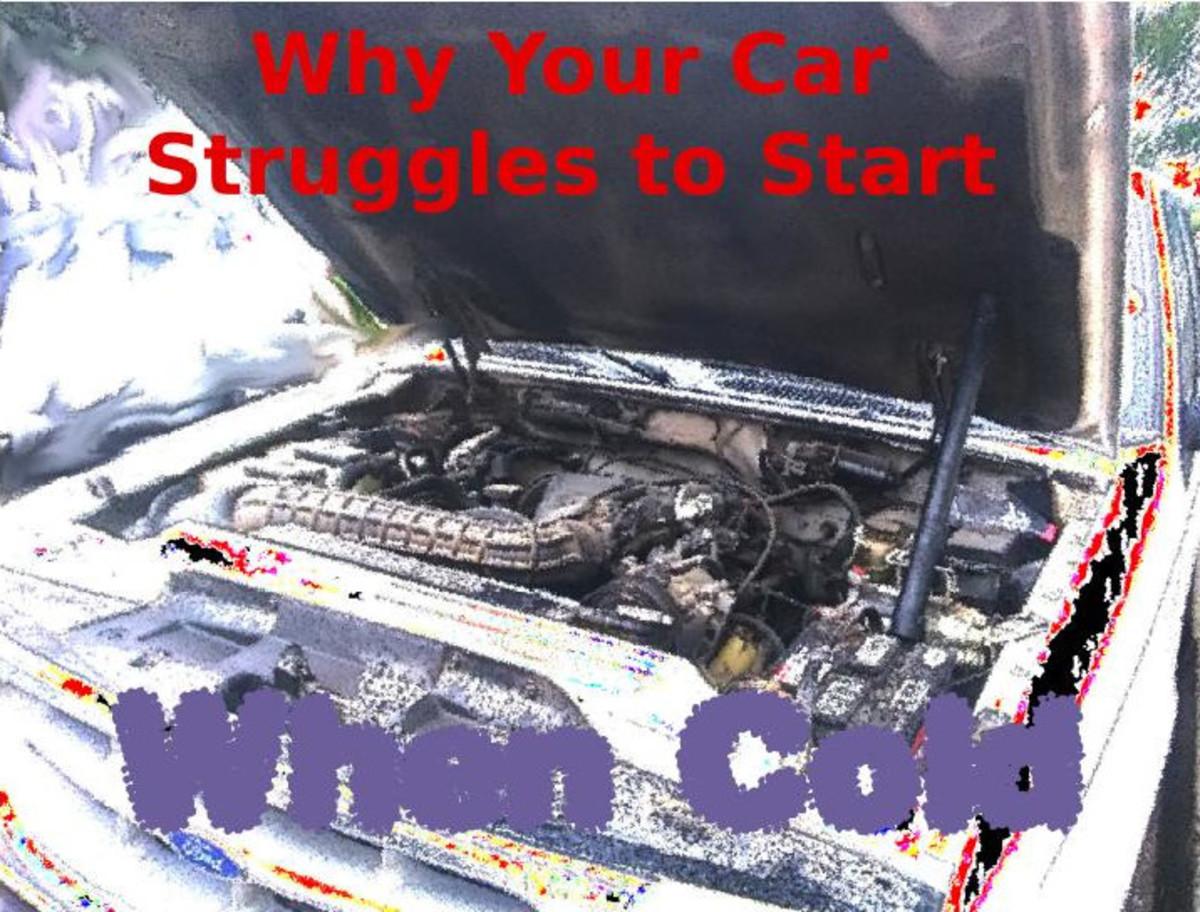 我的汽车 - 斗争 - 开始 - 发动机 - 感冒