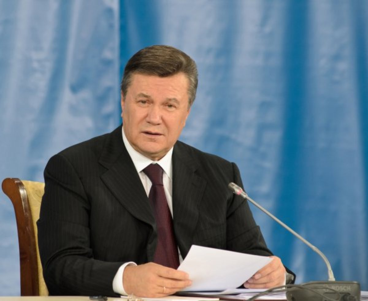 The President Yanukovich