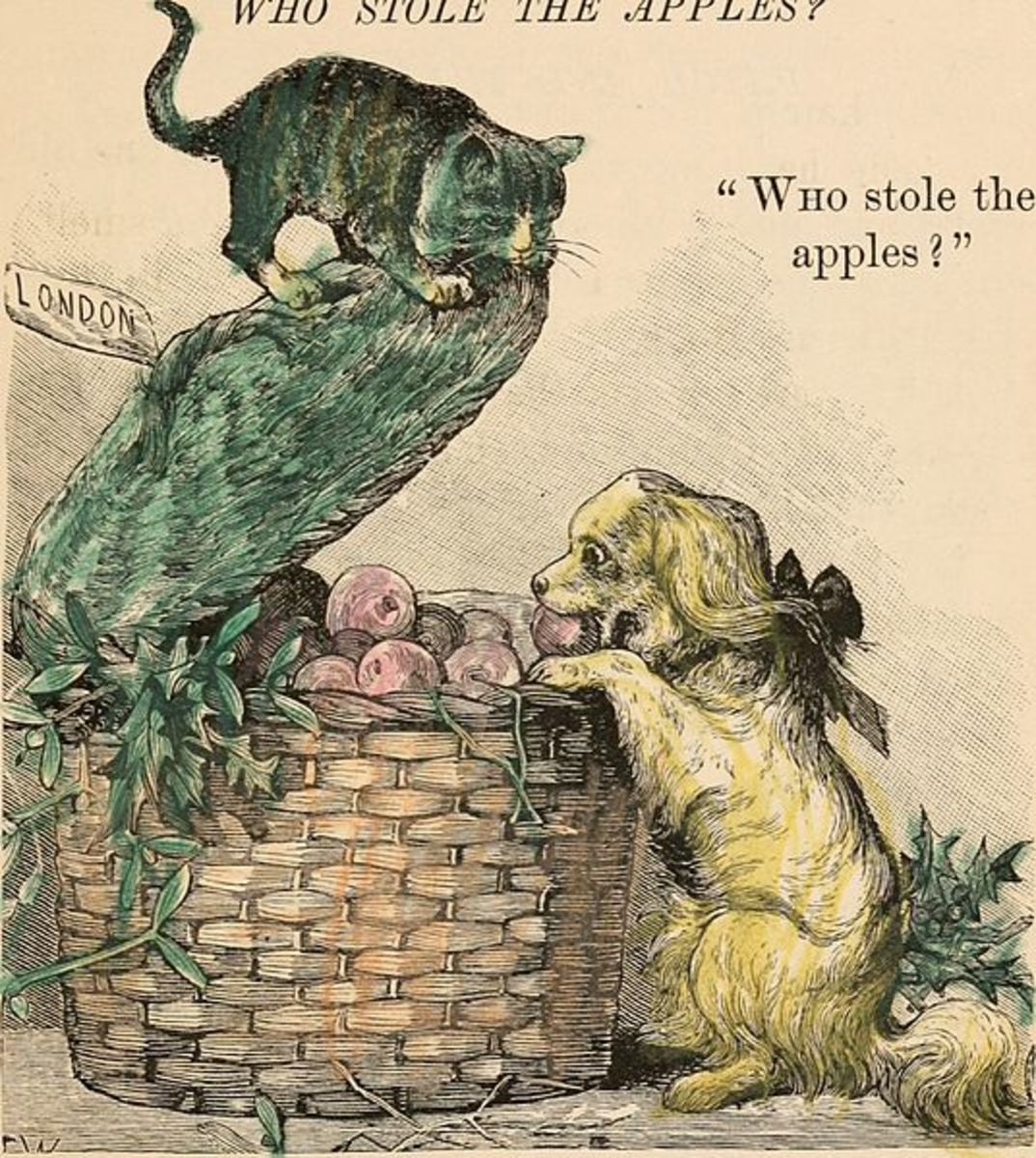 Books of Cats and Dogs and other Friends (1885)