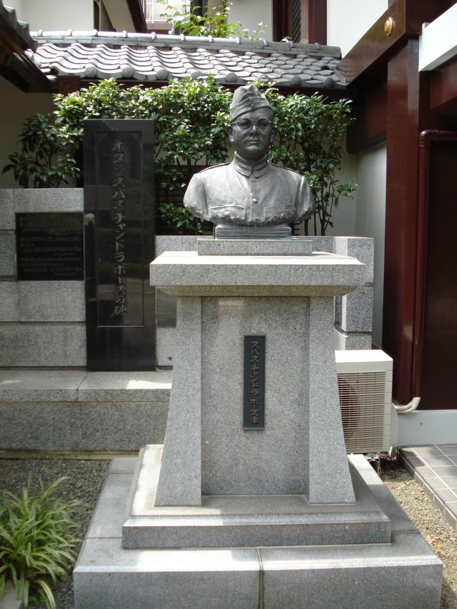 Bose statue in Tokyo