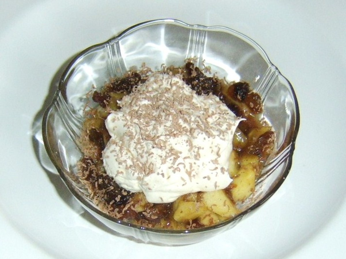 Apple Dessert Recipes for One Person