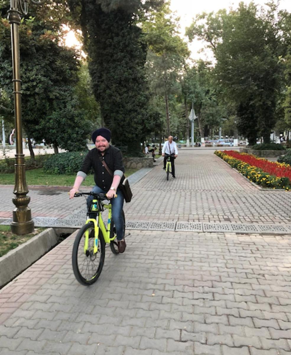 cycling time with Kamal ji