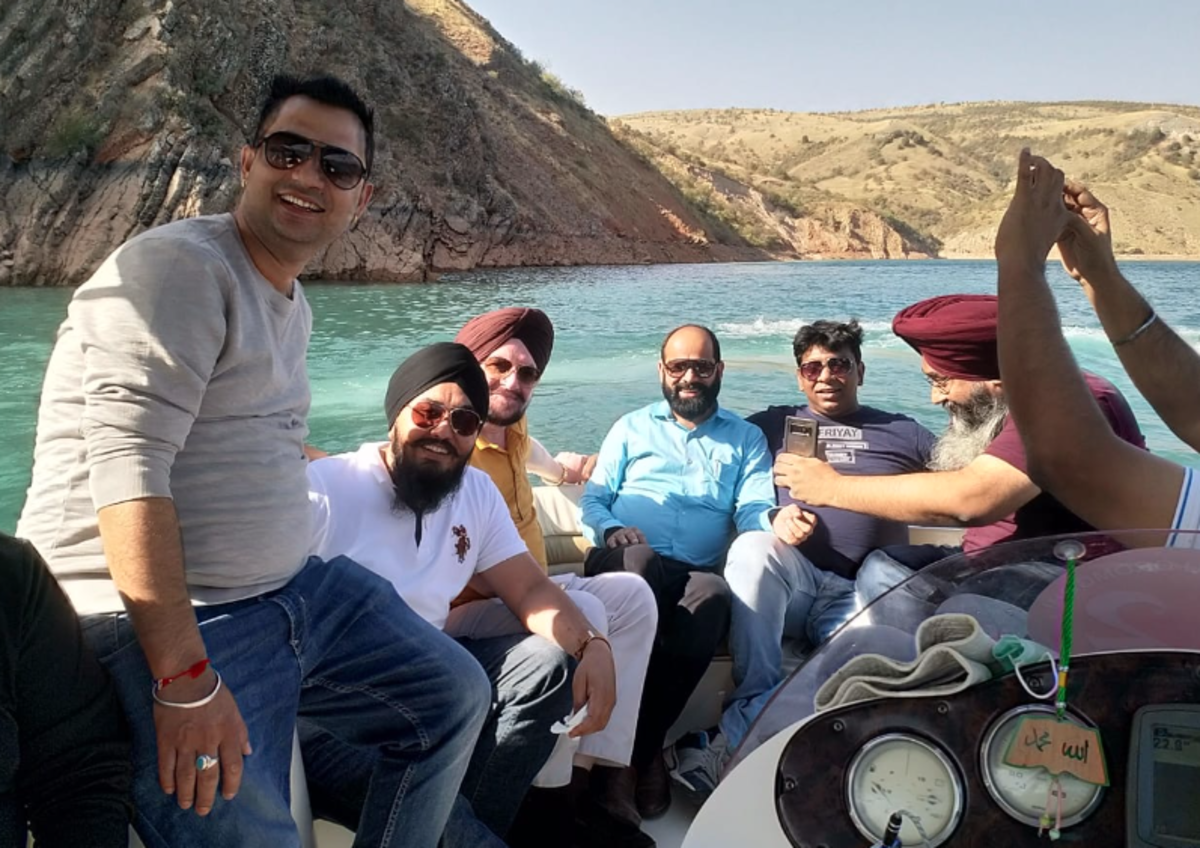 ...boating experience with friends