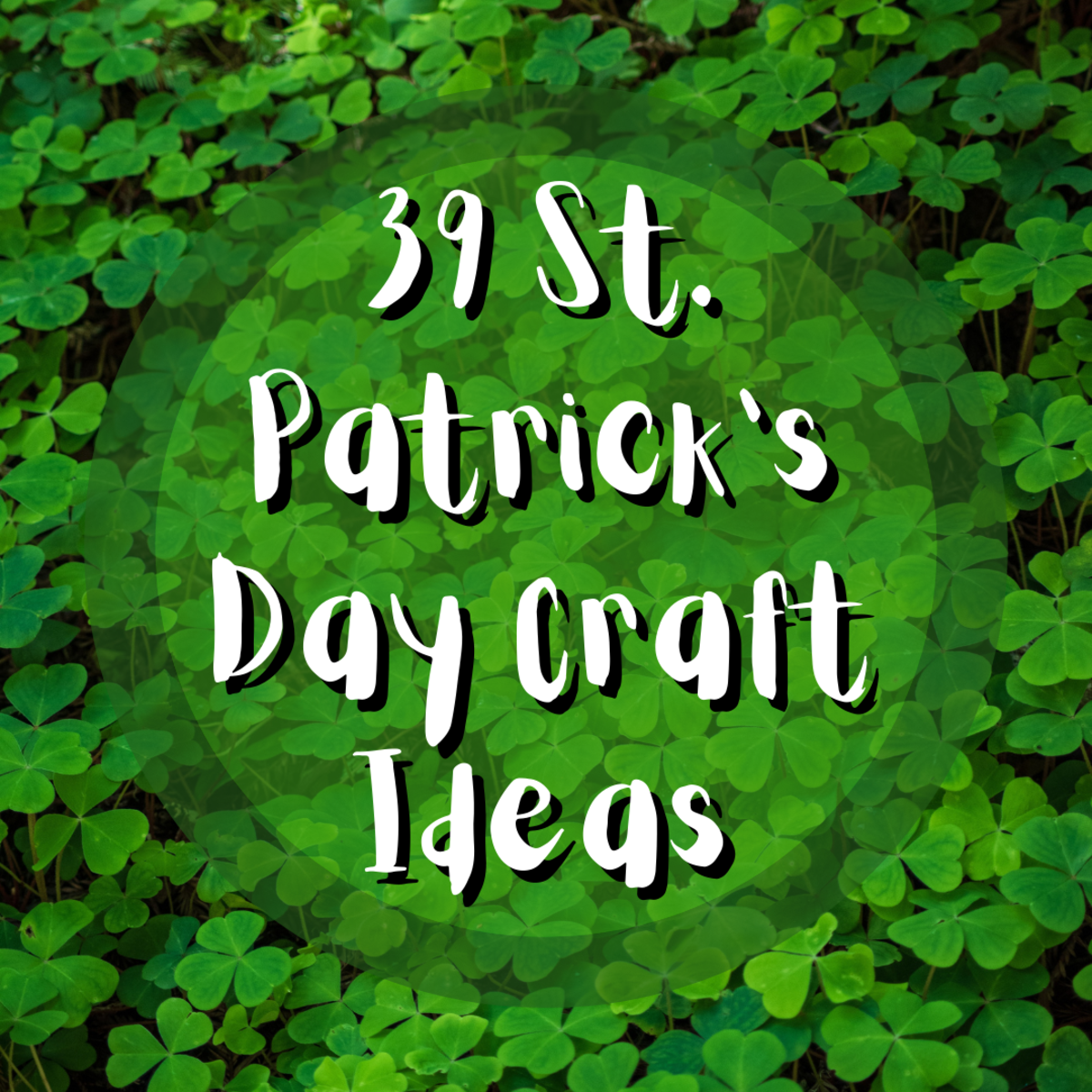 Find a plethora of incredible St. Patrick's Day crafts for adults and kids! Everything from jewelry to suncatchers!