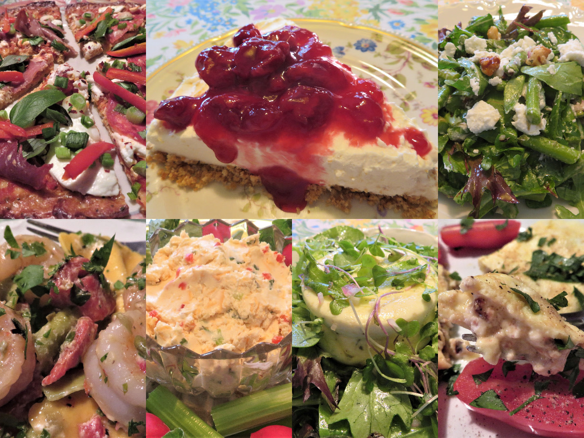 Which of these tasty goat cheese dishes will you choose?