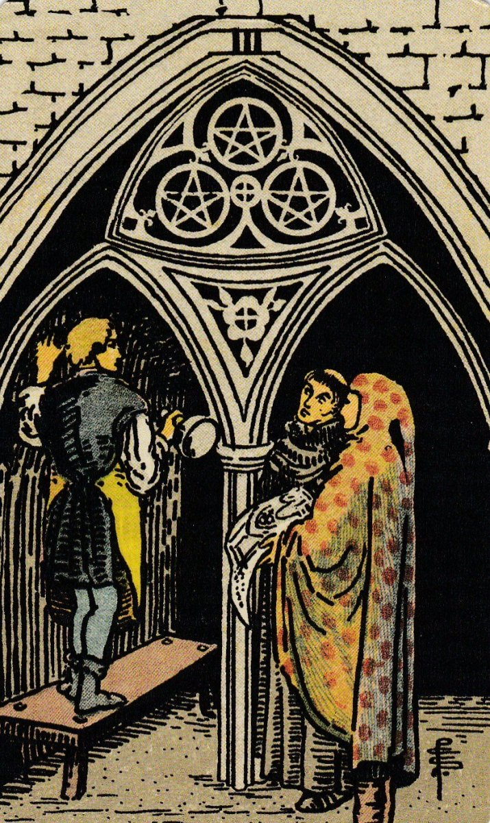 The Reversed Three of Pentacles isn't necessarily a bad thing. It could mean you're more comfortable working alone. You don't like getting caught up in the annoyances of a regular job.
