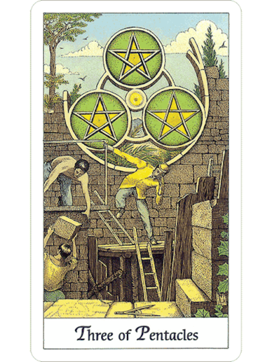 The Three of Pentacles in Tarot and How to Read It