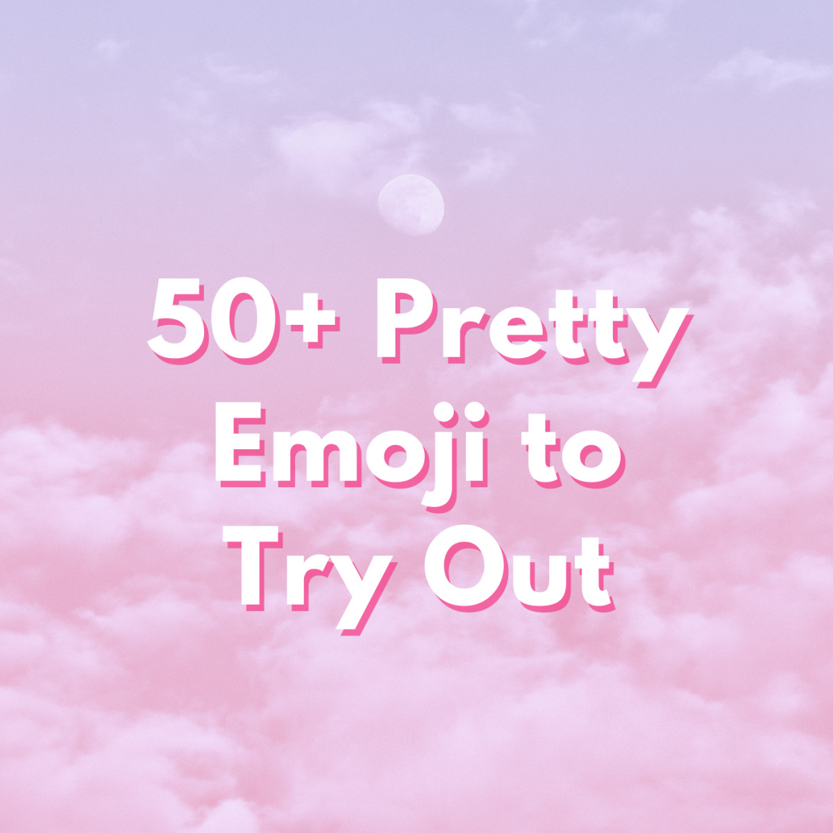 In this guide, we'll be taking a look at pretty emoji you can make use of!