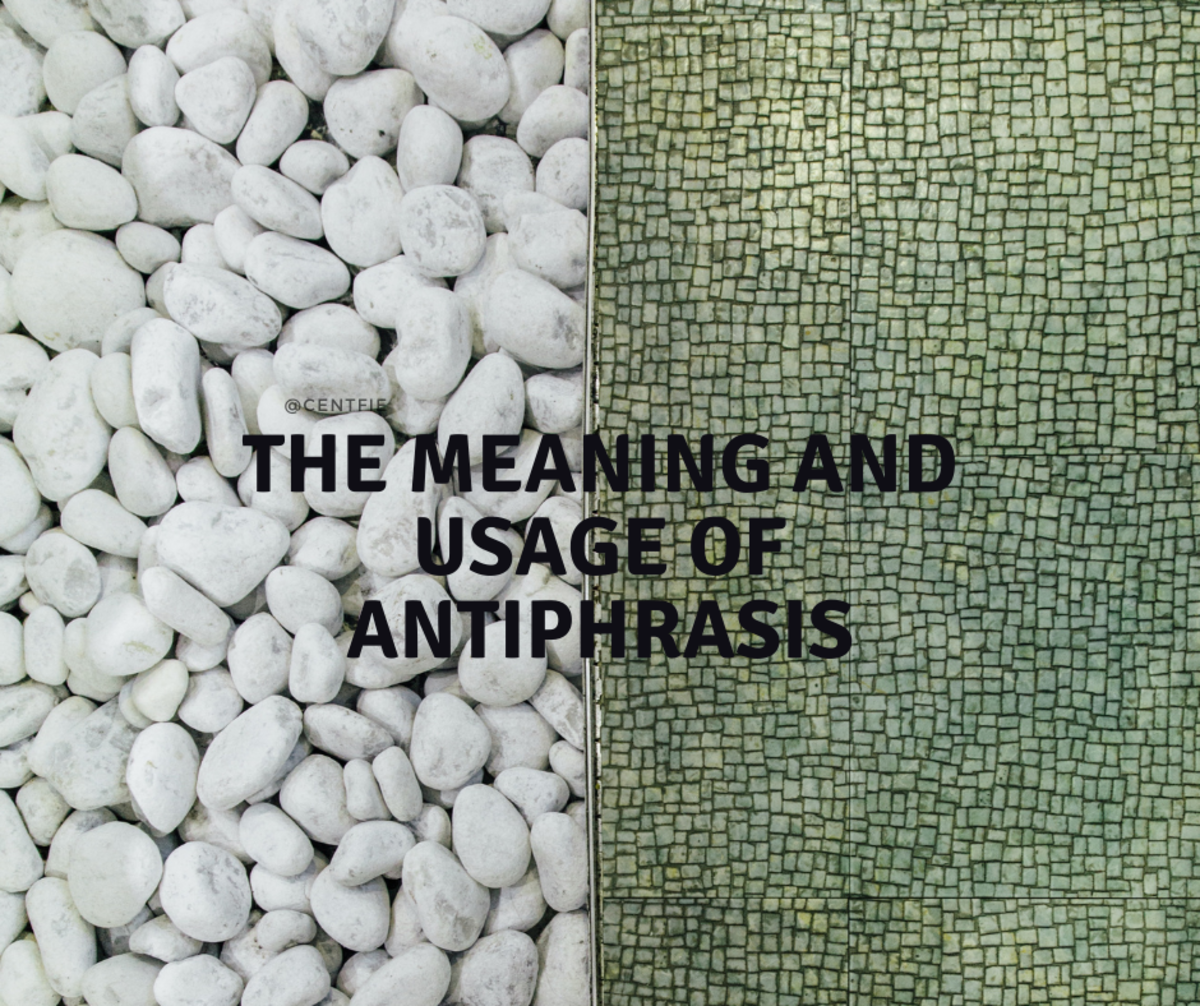 This article will take a look at the meaning and usage of the literary concept of antiphrasis.
