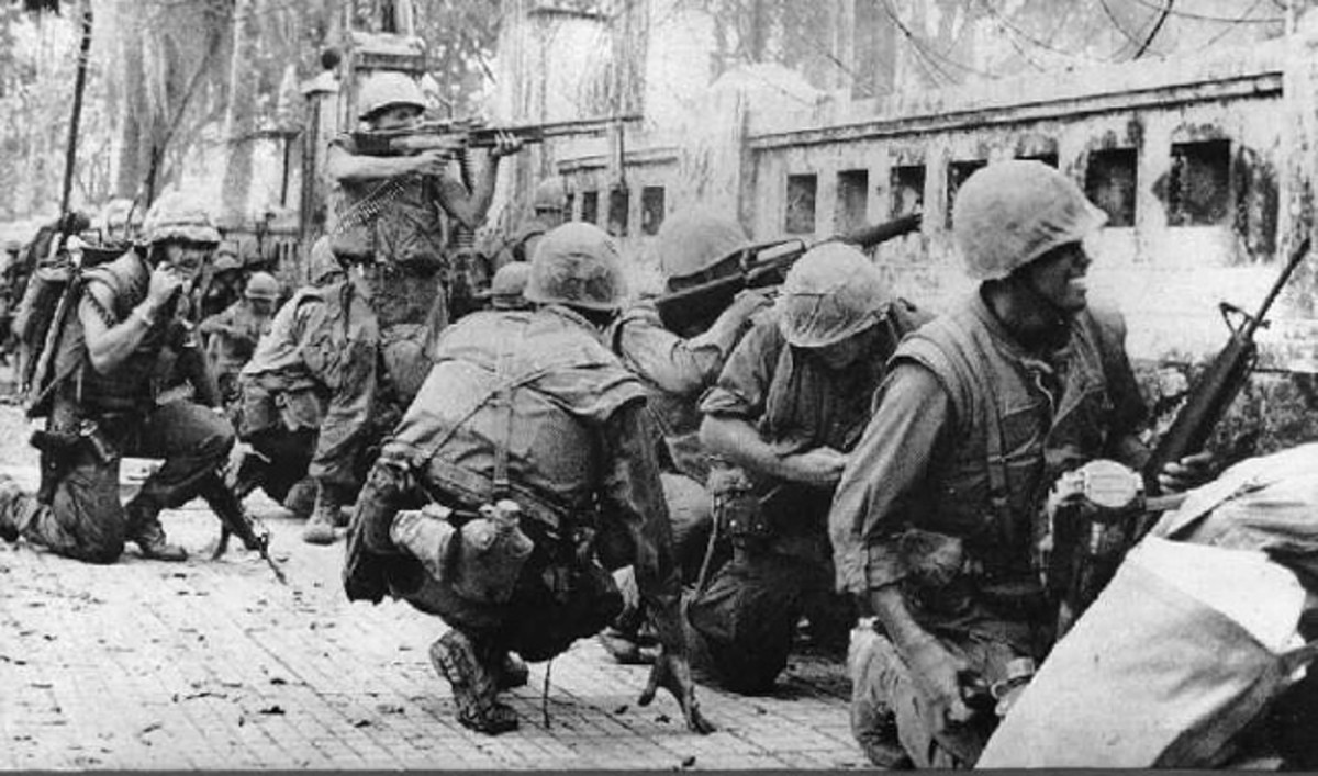 Tet Offensive in Vietnam, 1968