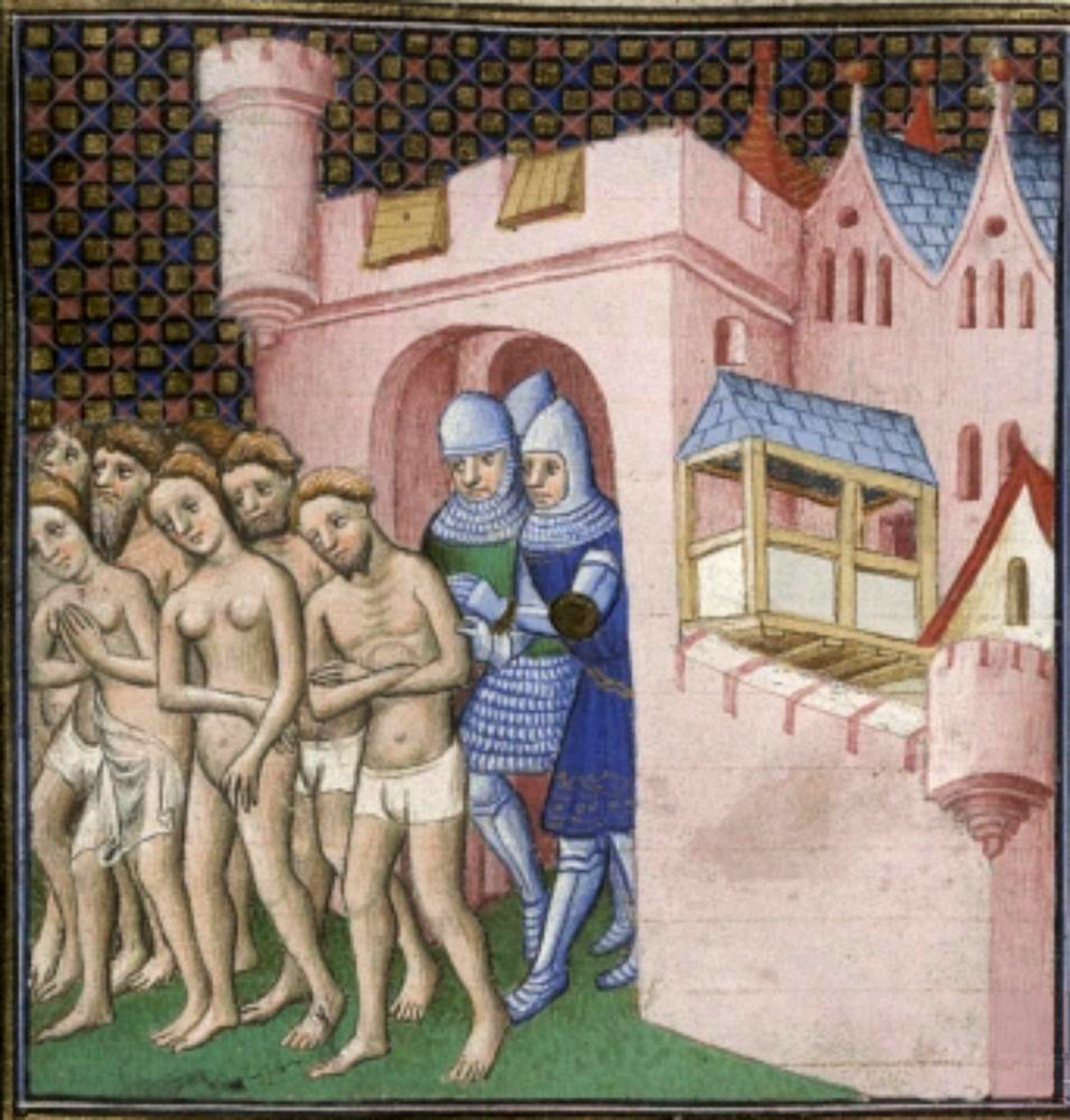 Cathars are forcibly expelled from Carcassonne, France.