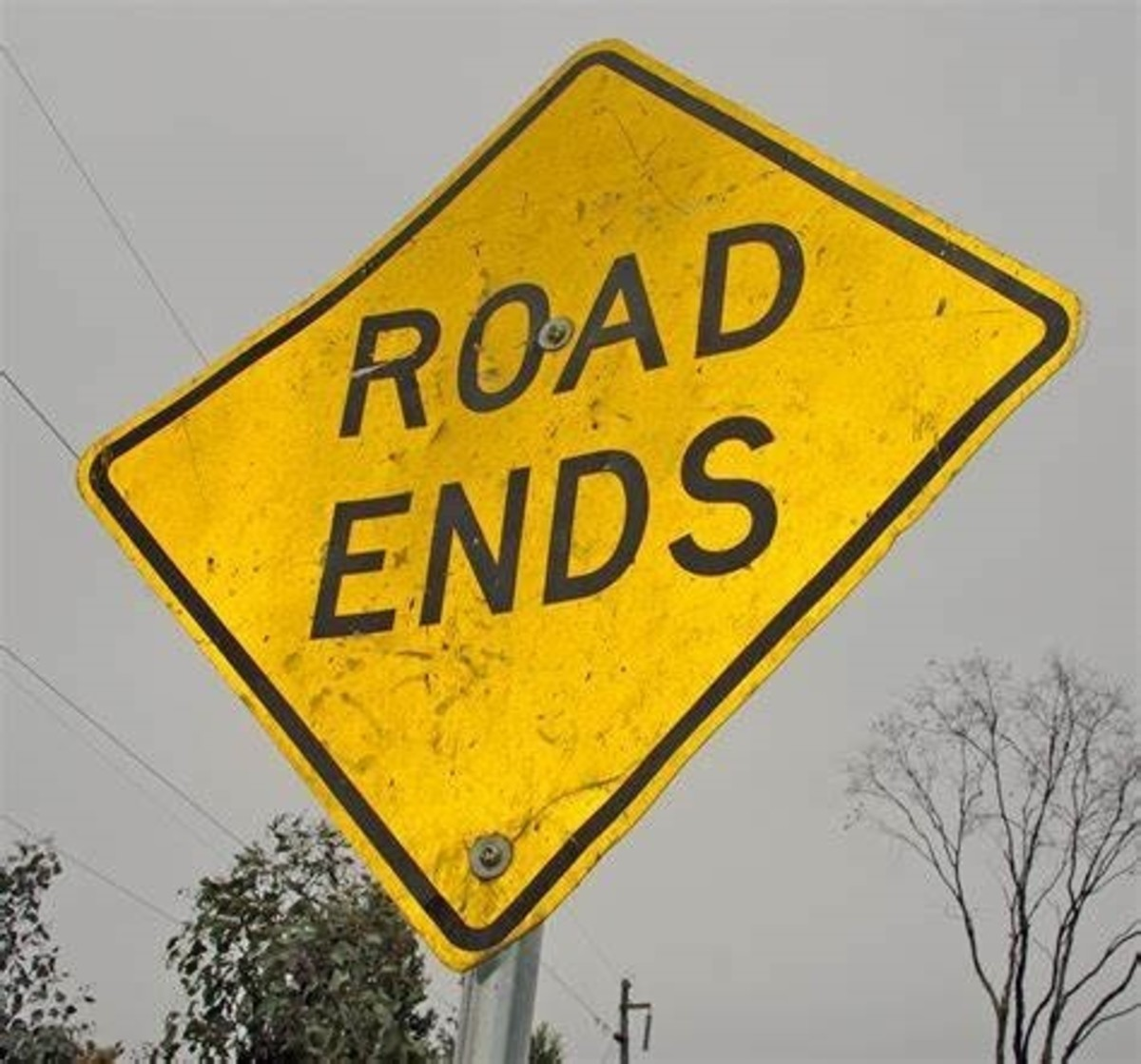 Road Ends sign.jpg - Wikimedia Commons