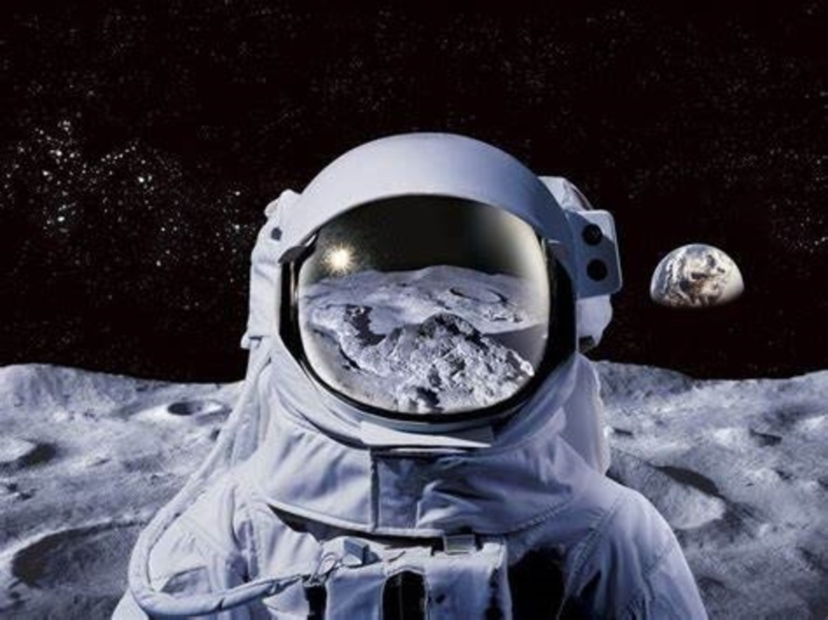 This is a beautiful video of what happens to astronauts ...