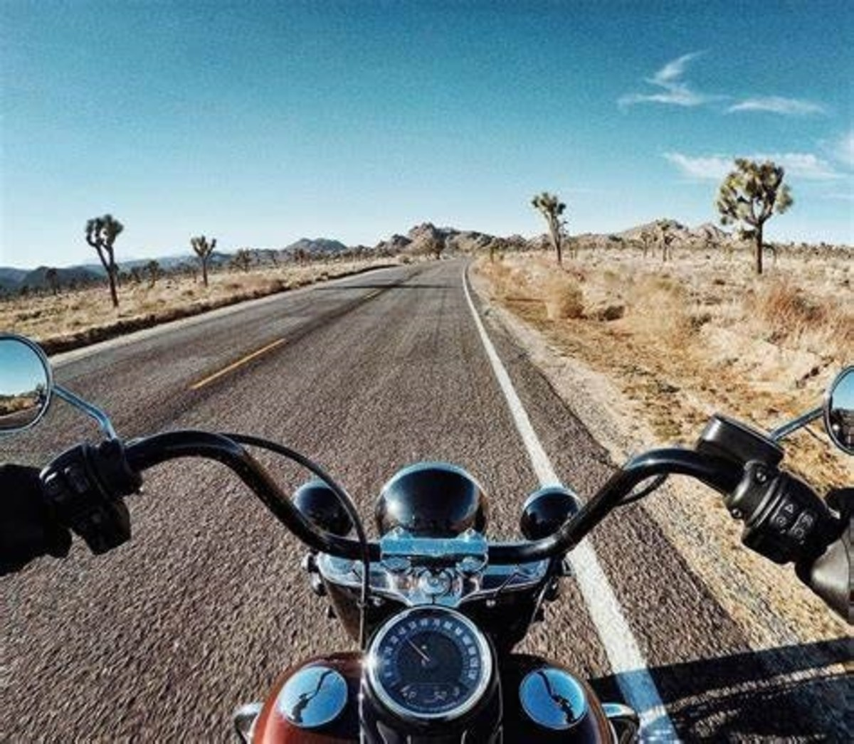 Image: motorcycle, sky and outdoor | Harley ...