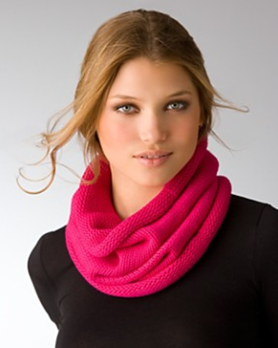 Ring infinity scarf