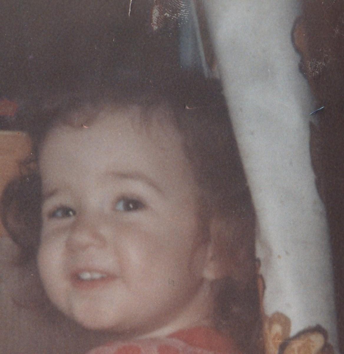 Victoria Lynn at age 3