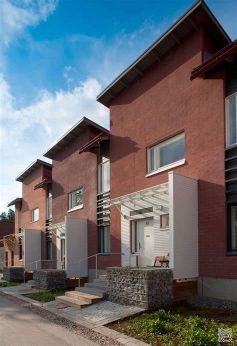 Kankaretie Row Houses   Row house, House styles, House