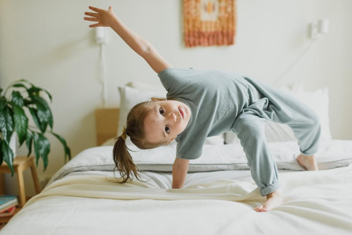 Is your child comfortable using and moving his/her body with ease?