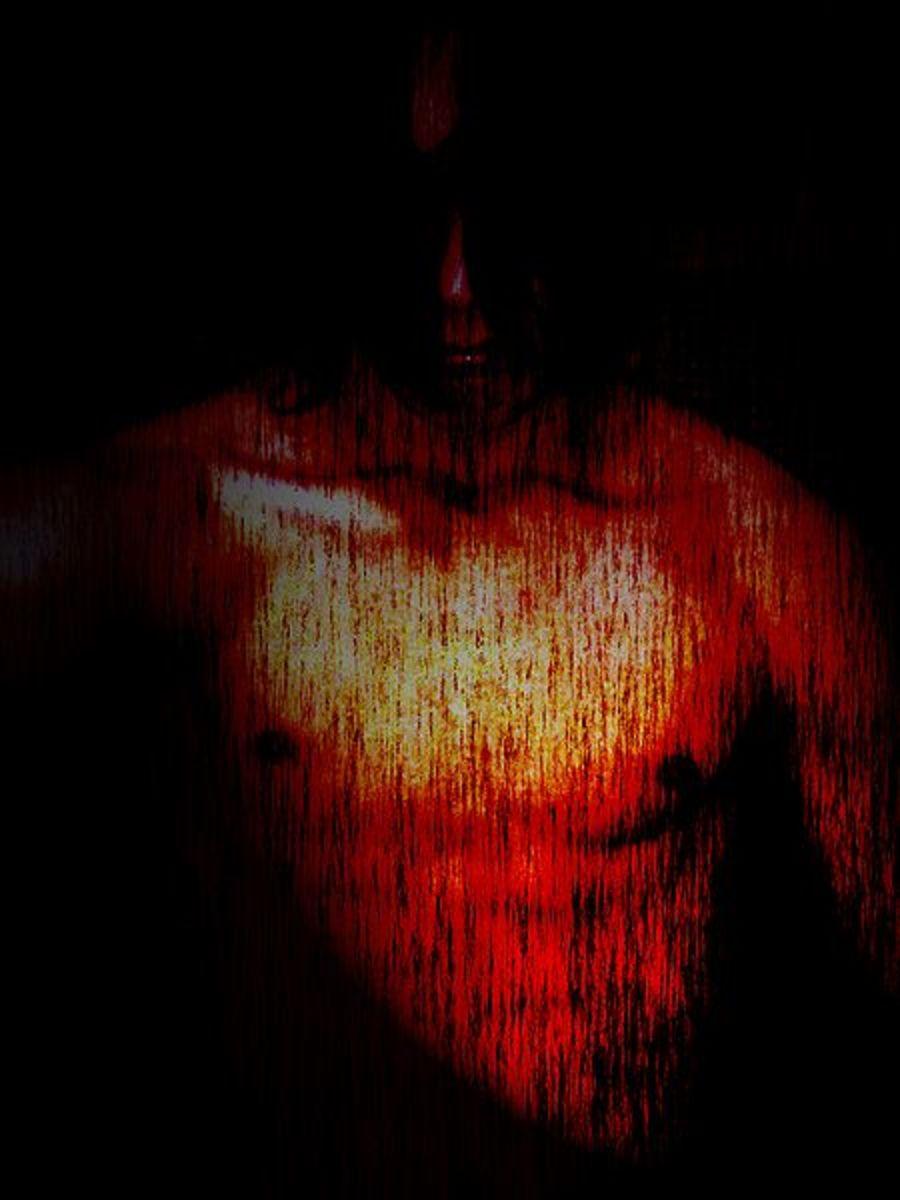 """""""Pain.""""  Image courtesy Tetranecro and Wikimedia Commons."""